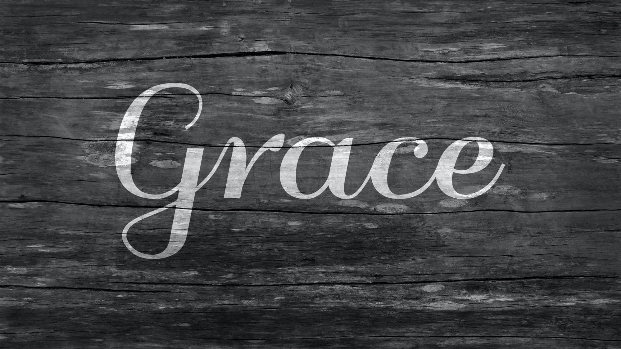 Be Kind and Show Grace